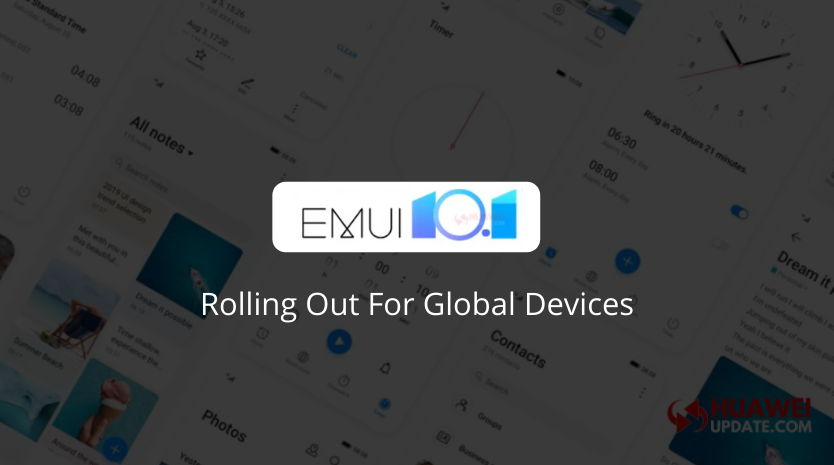 EMUI 10.1 beta Global Devices