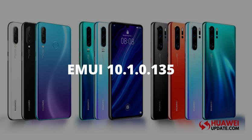 EMUI 10.1.0.135 update