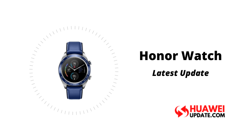 Honor Watch Update