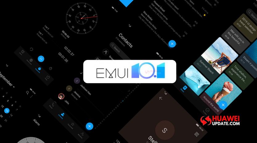 Huawei EMUI 10.1 beta