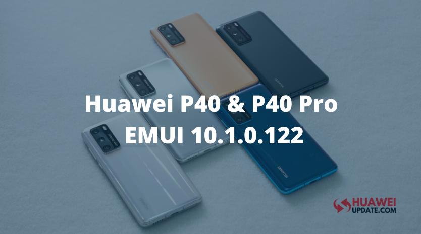 Huawei P40 EMUI 10.1.0.122