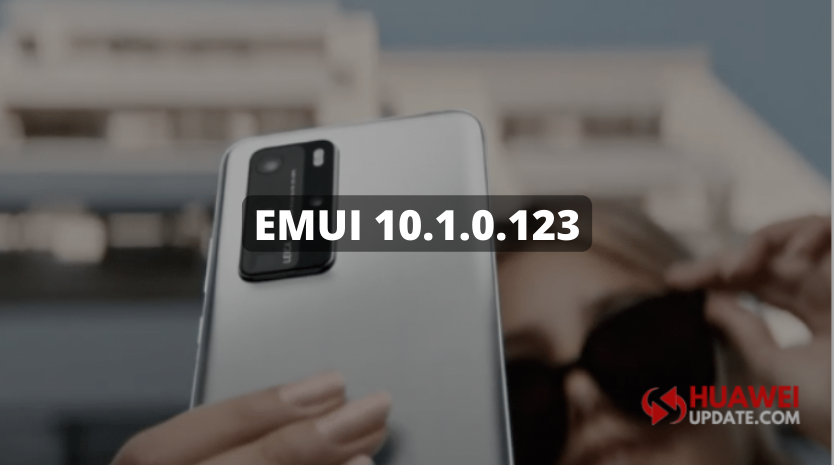Huawei P40 and P40 Pro getting EMUI 10.1.0.123