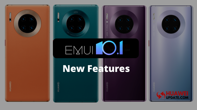 EMUI 10.1 New Features Mate 30 series