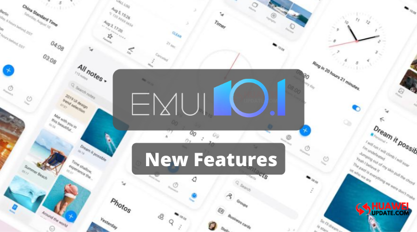 EMUI 10.1 first features