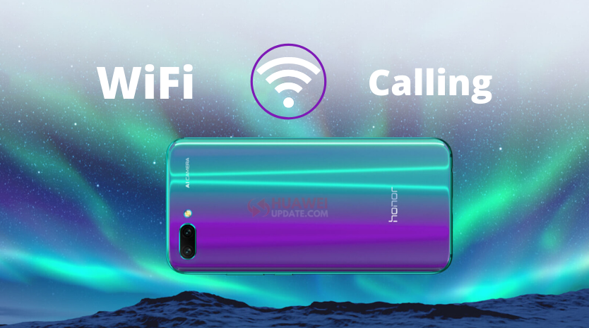 Honor 10 VoWiFi Update