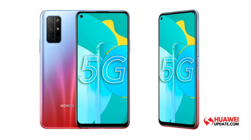 Honor 30S new Butterfly Feather Red Launched