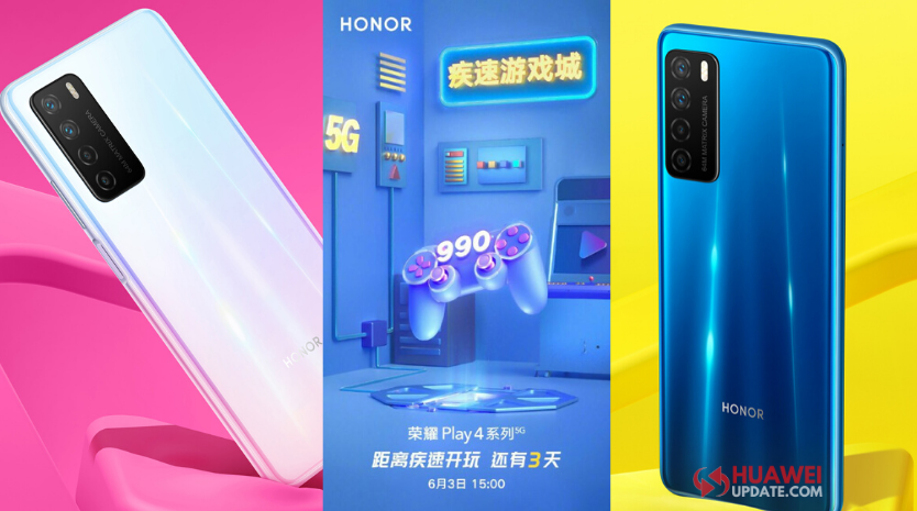 Honor Play 4 series will be powered by Kirin 990 5G
