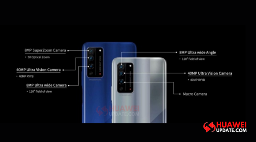 Honor X10 Camera Specifications