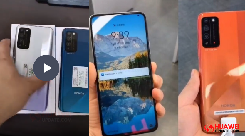 Honor X10 Videl and New color leaked