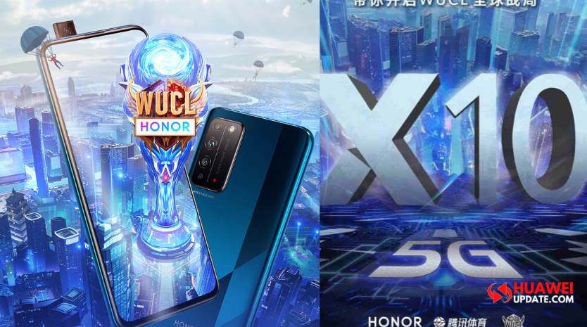 Honor X10 participated in Tencent Sports WUCL 2020
