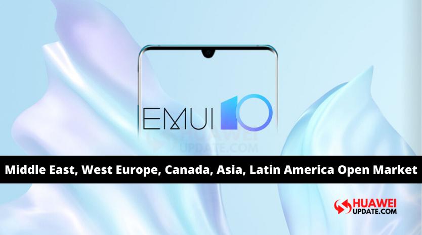 Huawei EMUI 10 2020 schedule changed