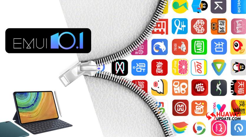 Huawei EMUI 10.1 MatePad Features
