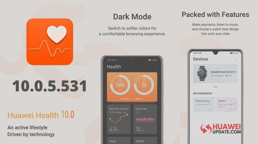Huawei Health App 10.0.5.531