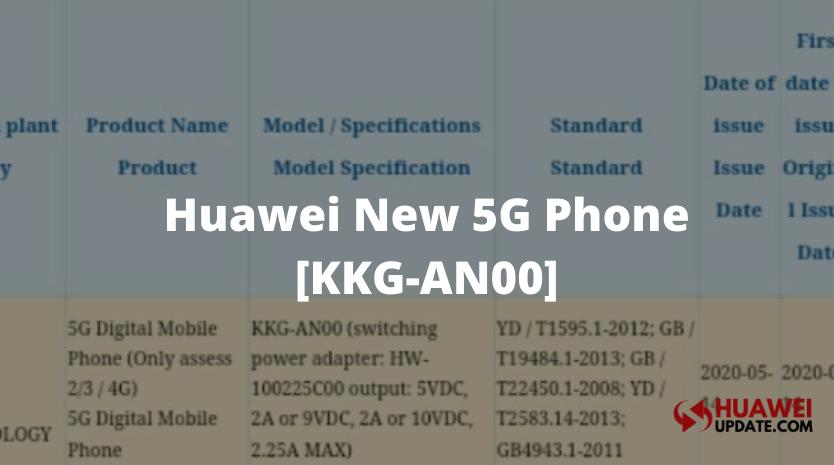 Huawei KKG-AN00 5G Phone 3C