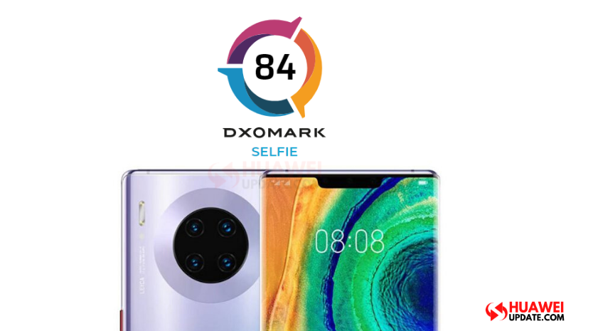 Huawei Mate 30 Pro 5G front camera review Dxomark