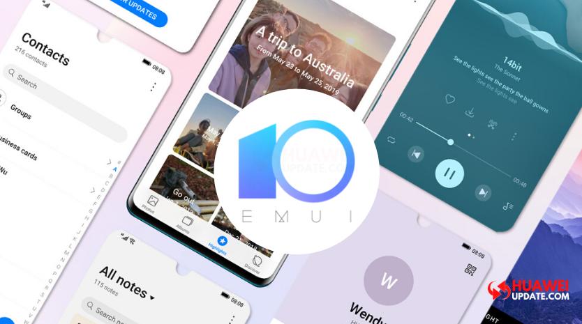 Huawei P20 Pro and Mate 10 EMUI 10 update