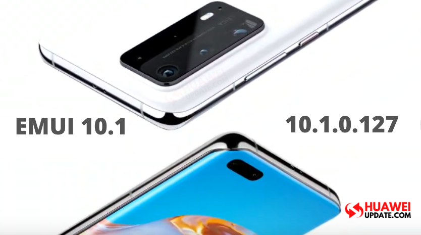 Huawei P40 and P40 Pro getting EMUI 10.1.0.127 update