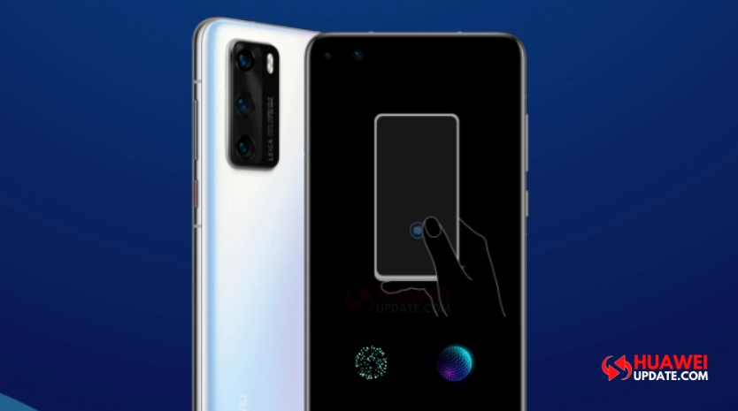 Huawei P40 series In-display fingerprint