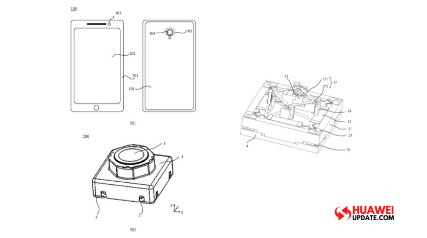 Huawei applied for patent related to liquid lens - Huawei Update
