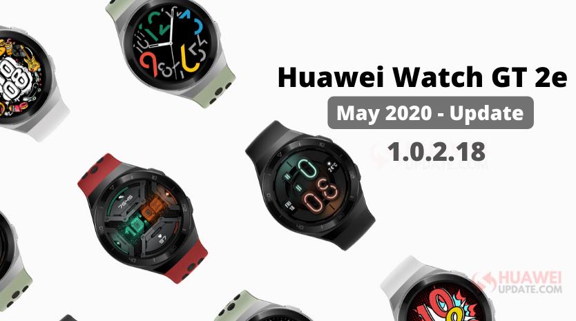 Huawei Watch GT 2e update