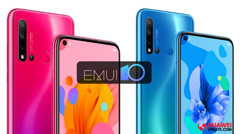 Nova 5i EMUI 10.0.0.122