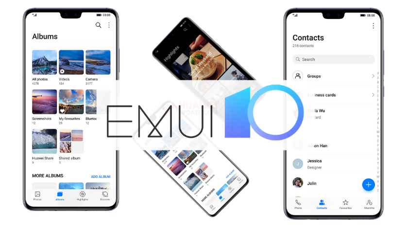 EMUI 10 June 2020 update plan for open market