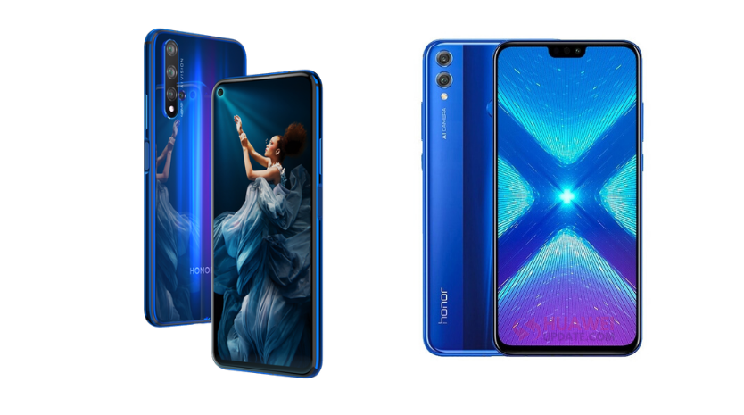 Honor 20 and Honor 8X