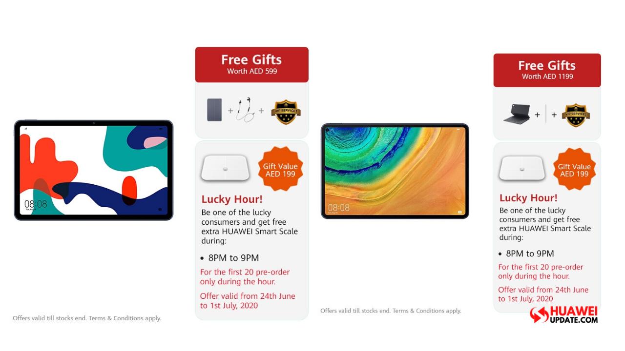 Huawei MatePad Pro 5G and MatePad