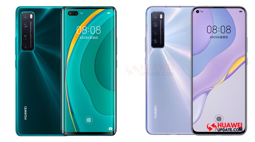 Huawei Nova 7 and 7 Pro 5G