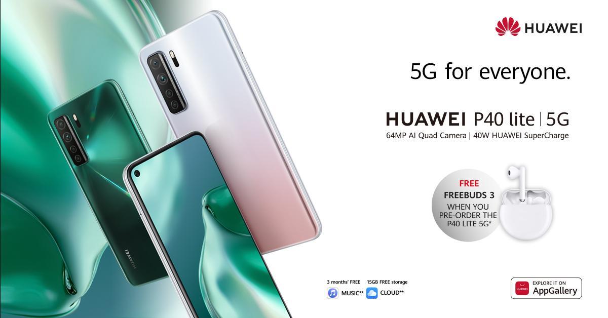 Huawei P40 Lite UK