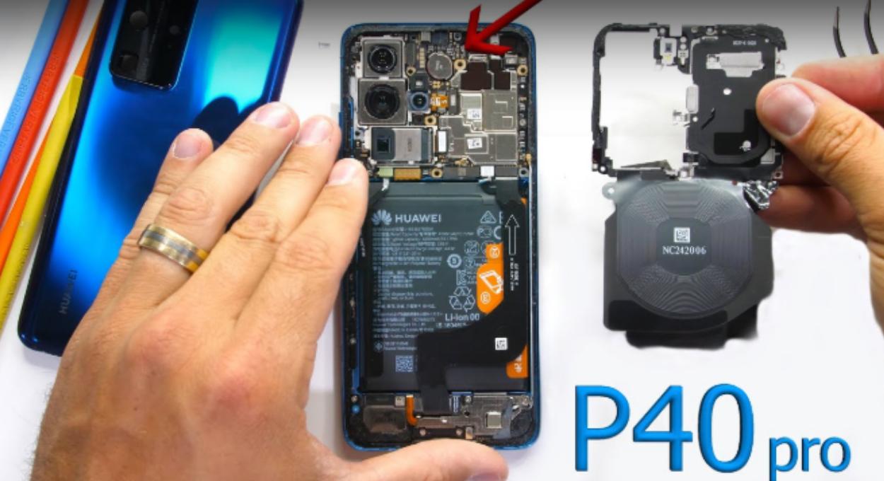 Huawei P40 Pro Teardown Video