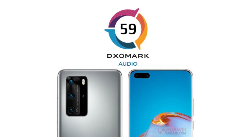 Huawei P40 Pro scores 59 points in DXOMARK audio test