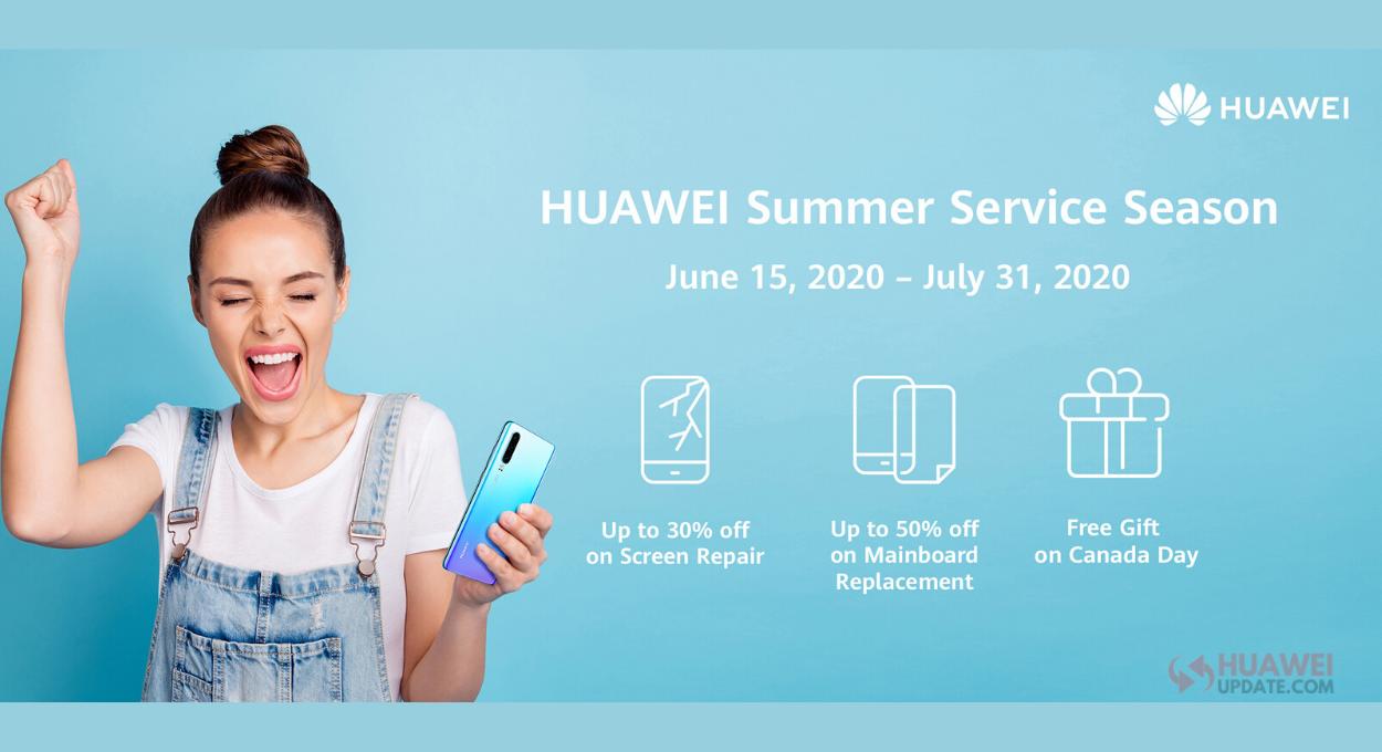 Huawei Summer Service Season