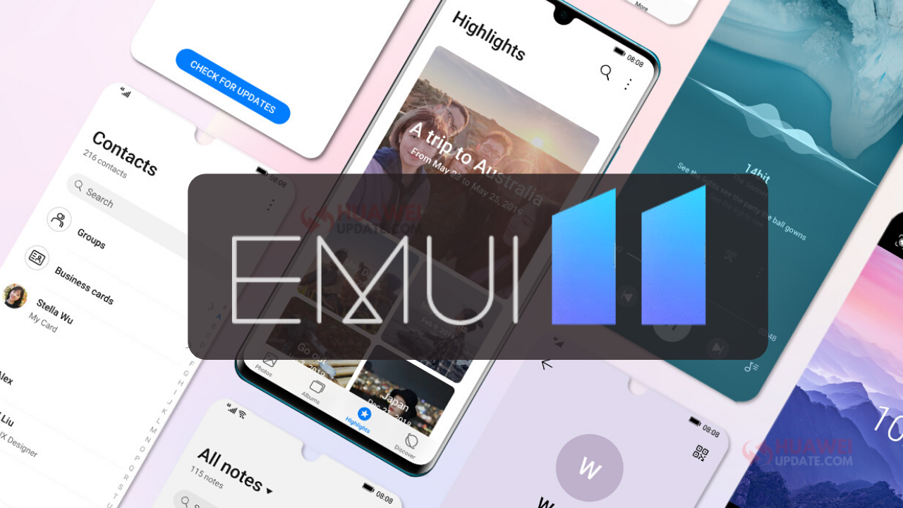 EMUI 11 Release Date