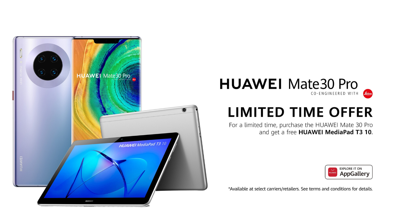 Huawei Canada Mate 30 Pro limited time offer