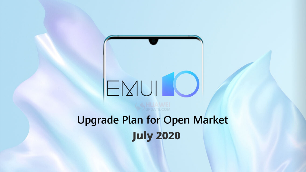 July 2020 EMUI 10 progress report
