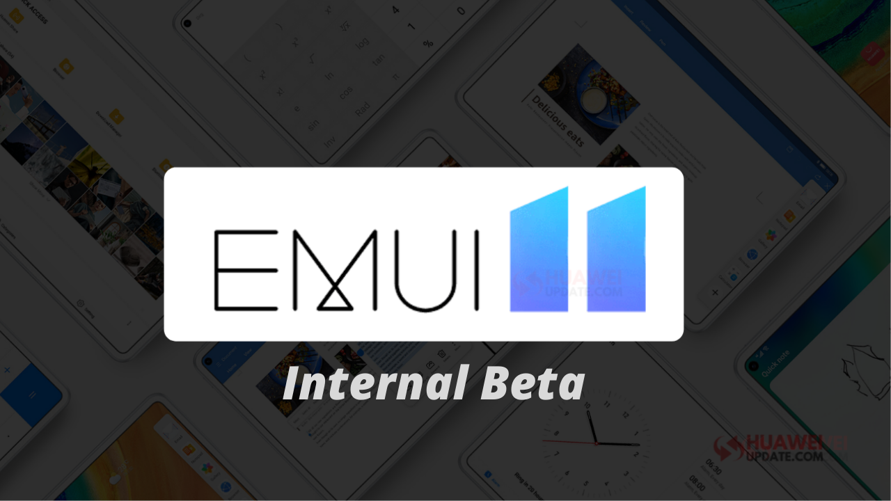 EMUI 11 Internal Beta