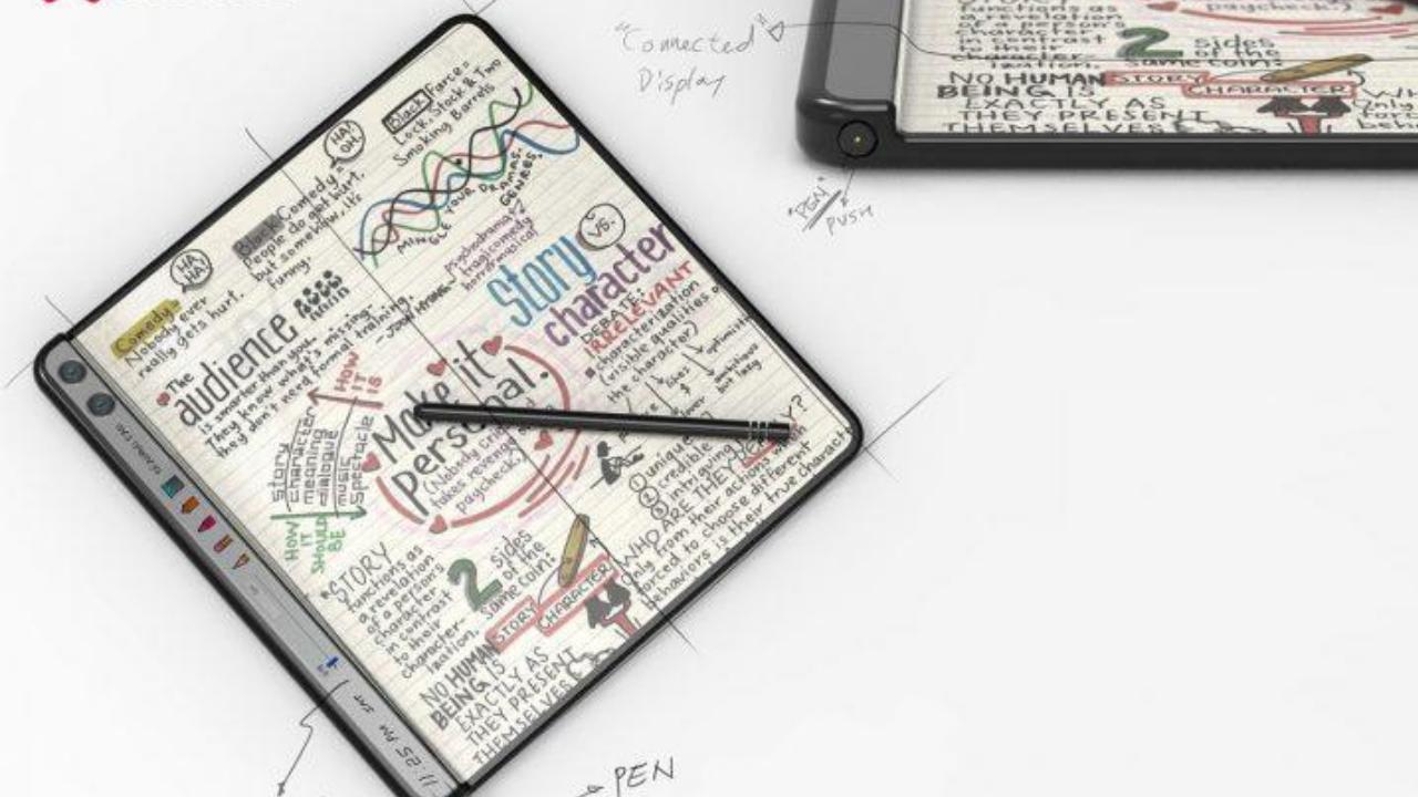 Huawei's foldable phone patent - LetsGoDigital