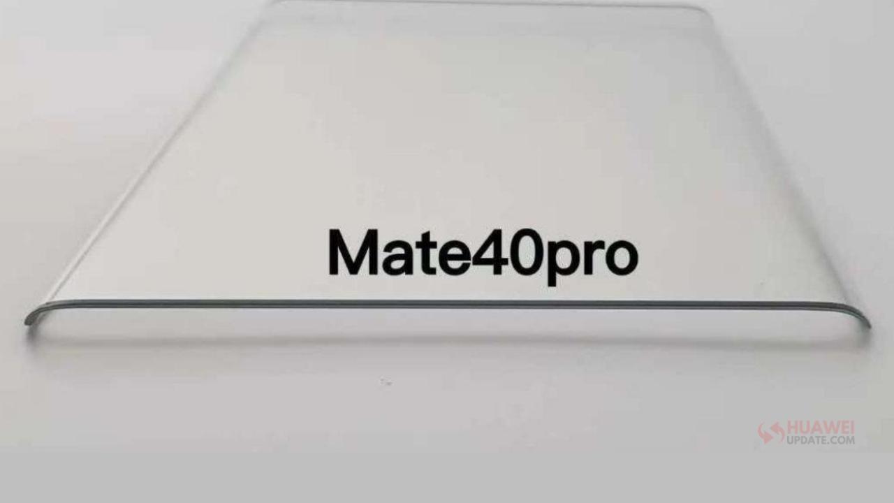 Mate 40 series screen