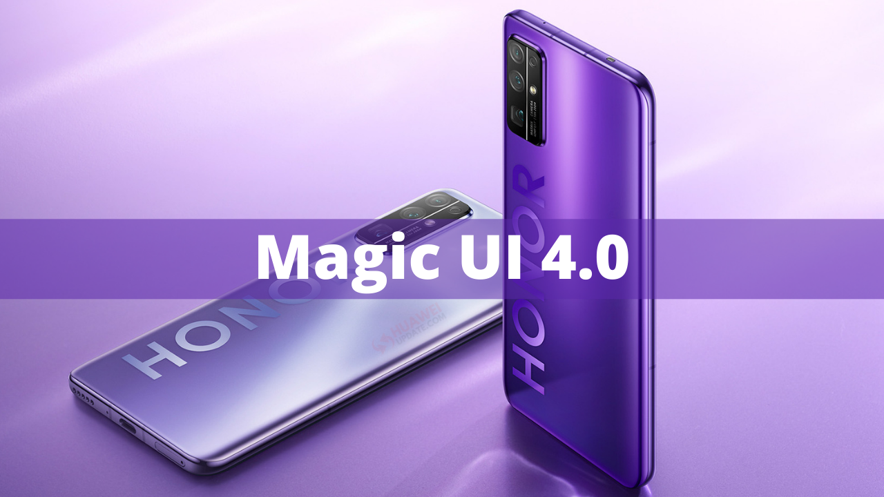 Honor 30 Magic UI 4.0