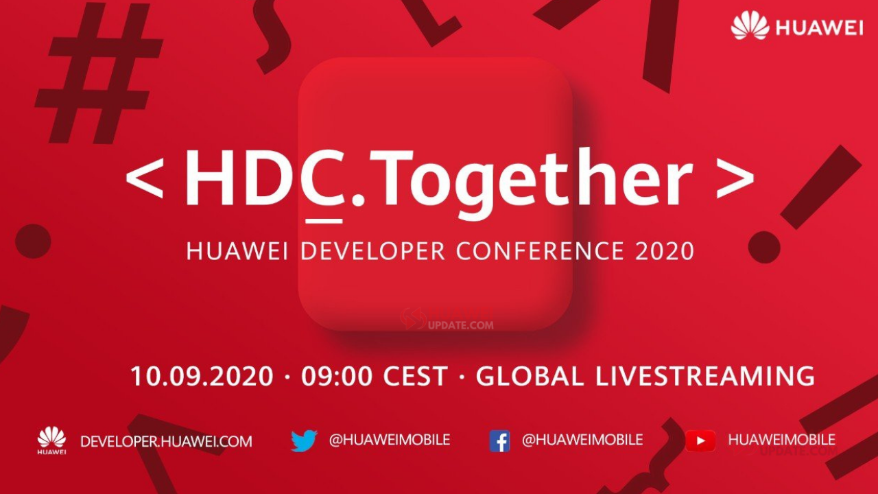 How to watch Huawei Developer Conference 2020 LiveStream