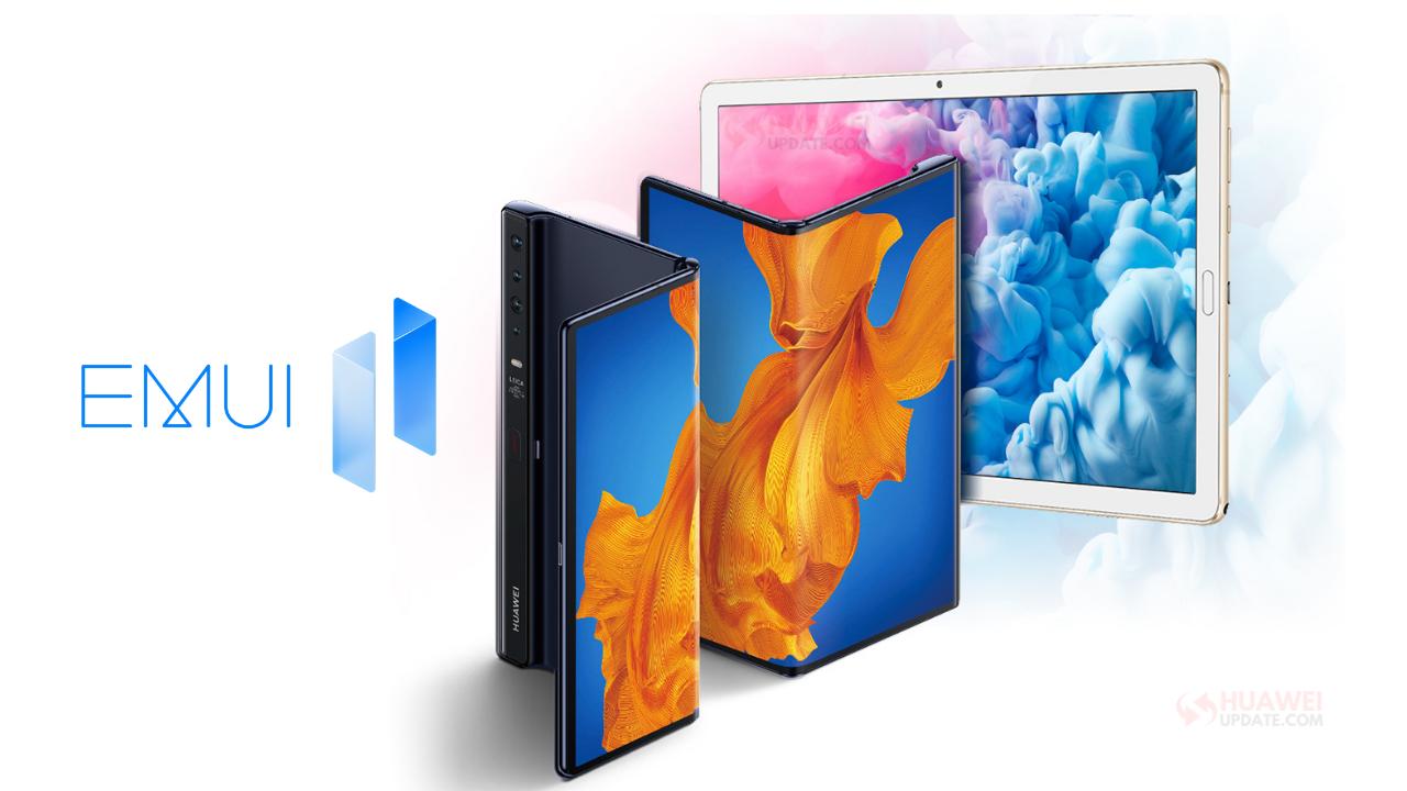 Huawei MatePad 10.8 and Mate Xs EMUI 11 beta