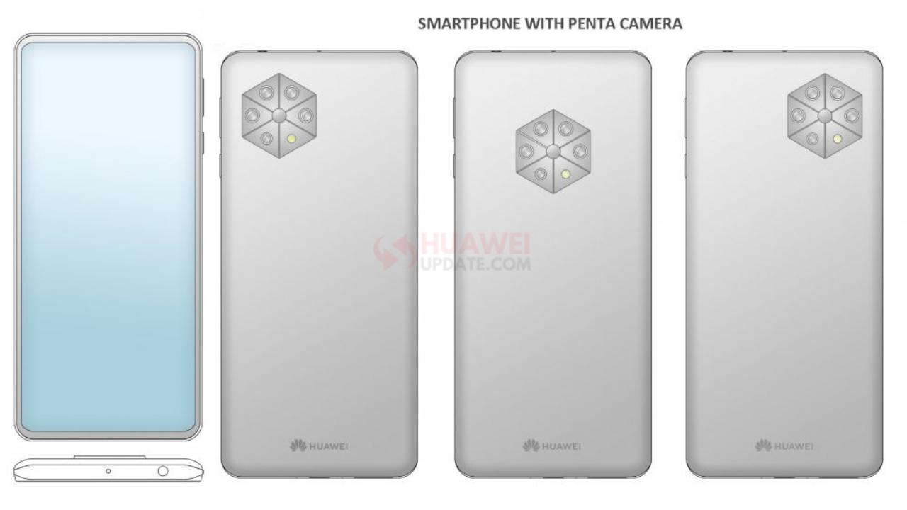 Huawei Penta camera patent