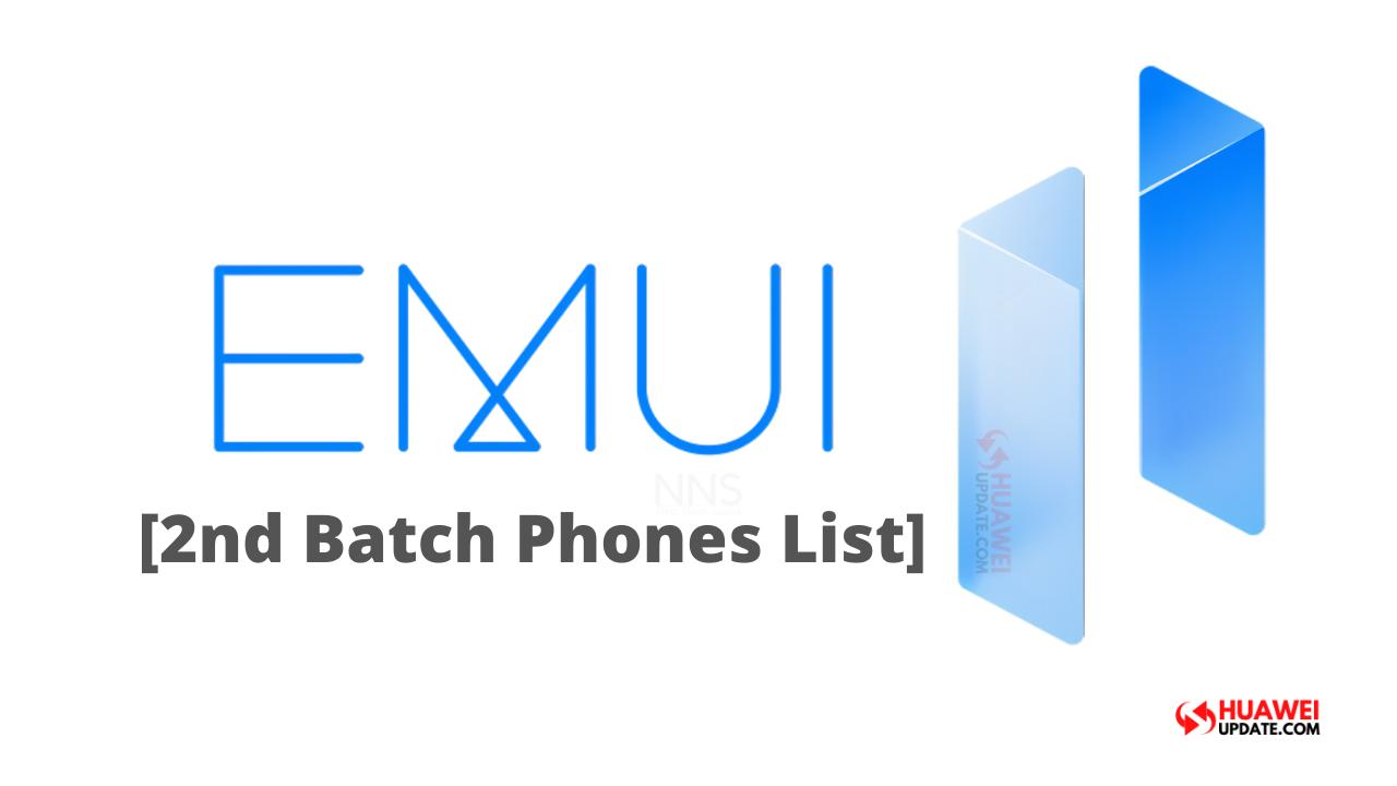 Second batch of EMUI 11 beta update