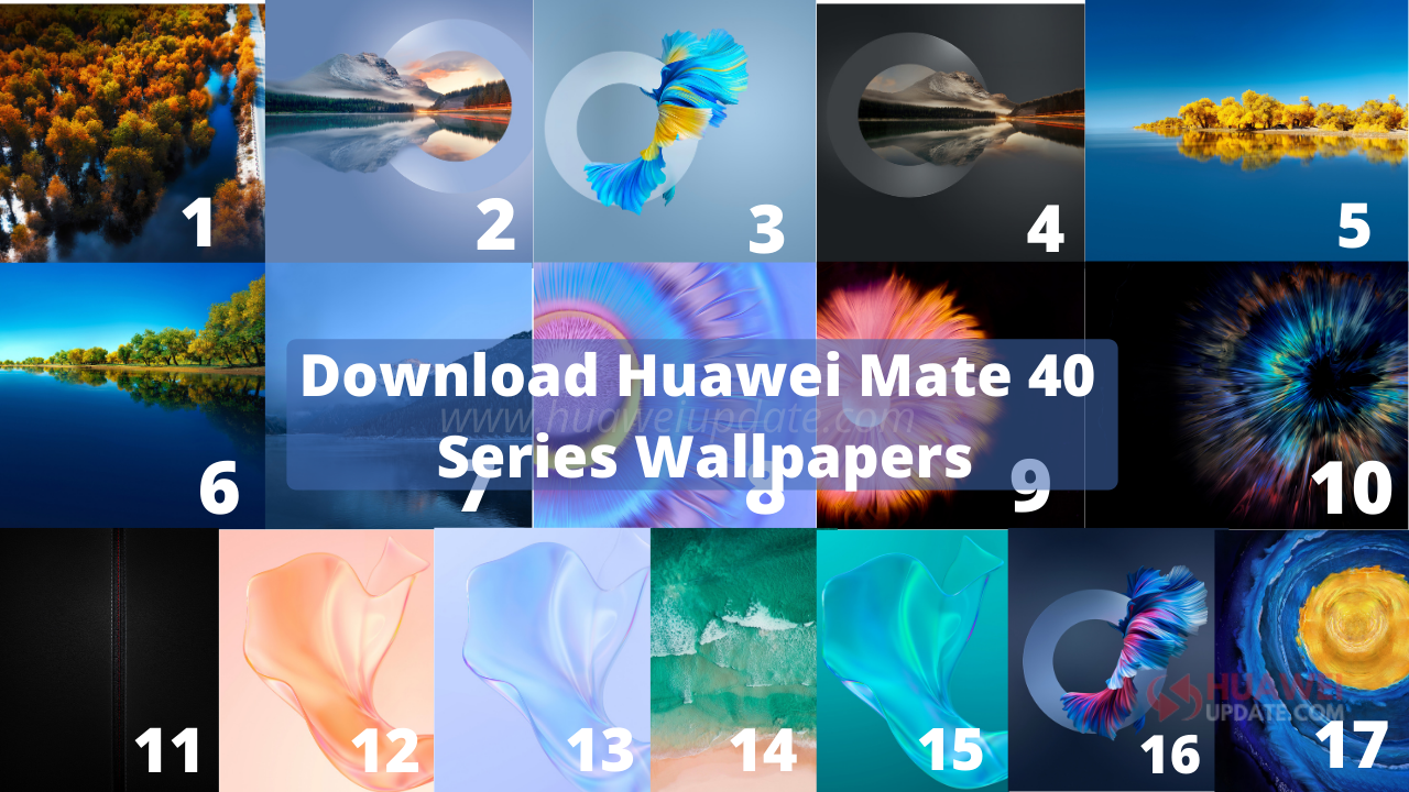 Download Huawei Mate 40 series wallpapers