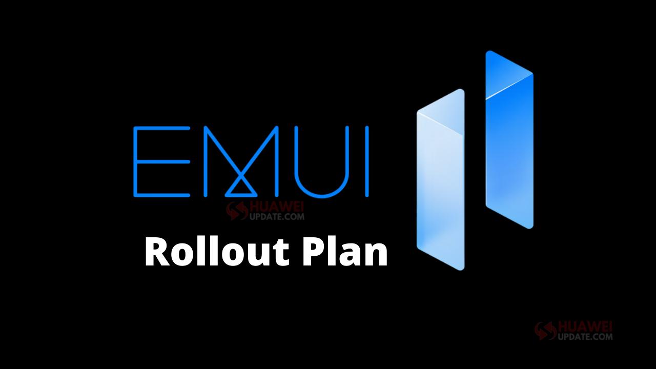 EMUI 11 Roadmap