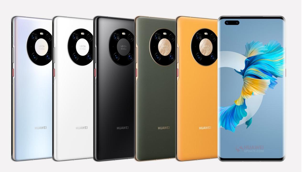 Huawei Mate 40 Pro Colors - HU