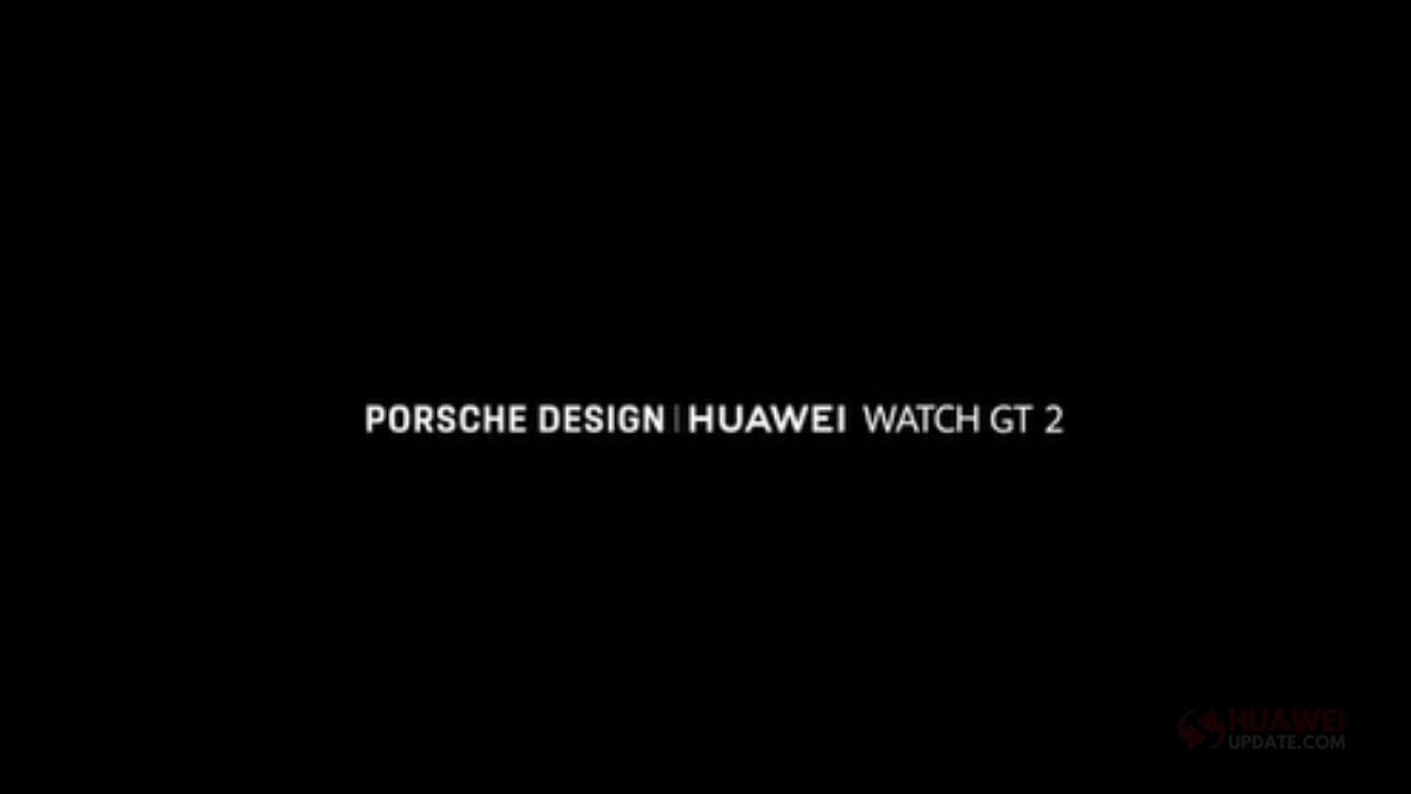 Huawei Watch GT2 Porsche Edition
