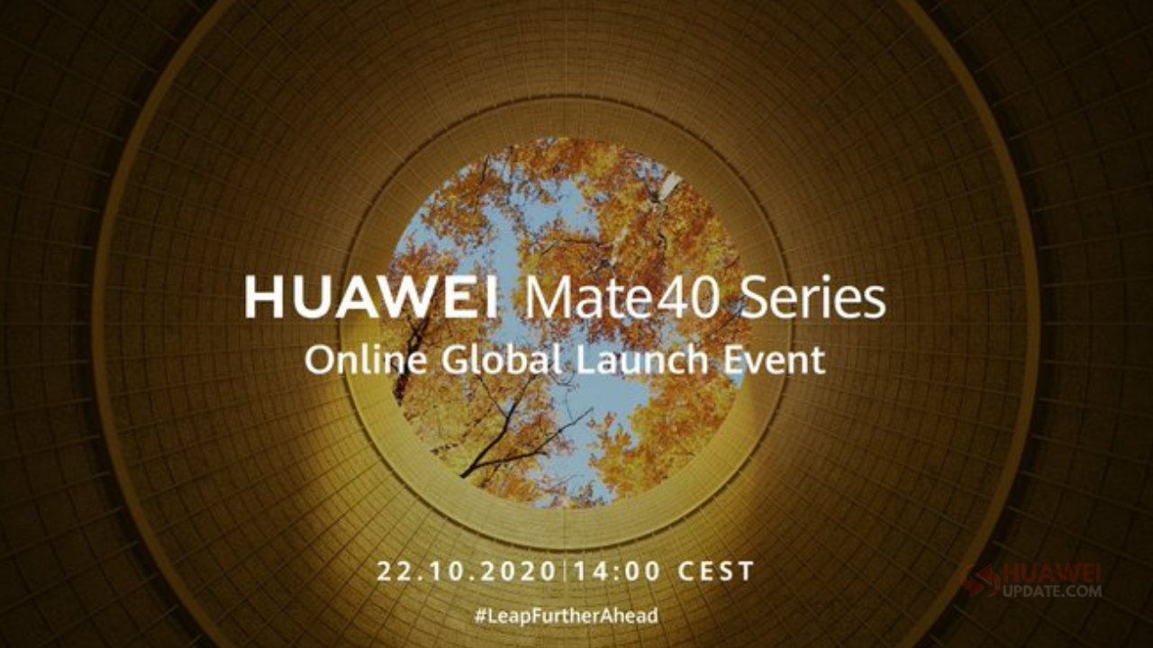Watch Huawei Mate 40 series launch event online