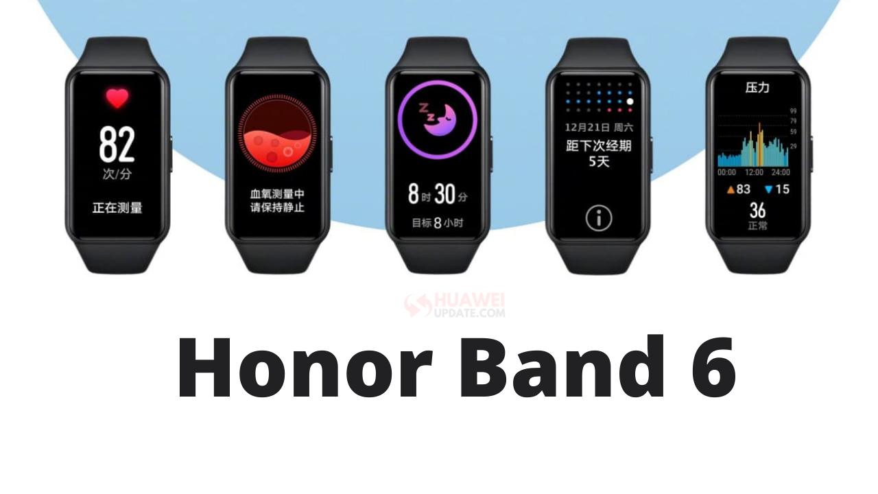 Honor Band 6 - HU